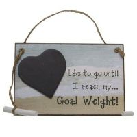 Heaven Sends - Goal Weight Countdown